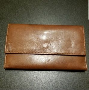 Bacci Brown Leather Wallet